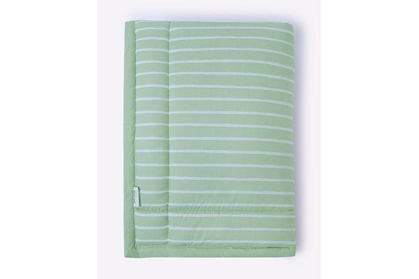 Mila Baby Green Stripe Mattress