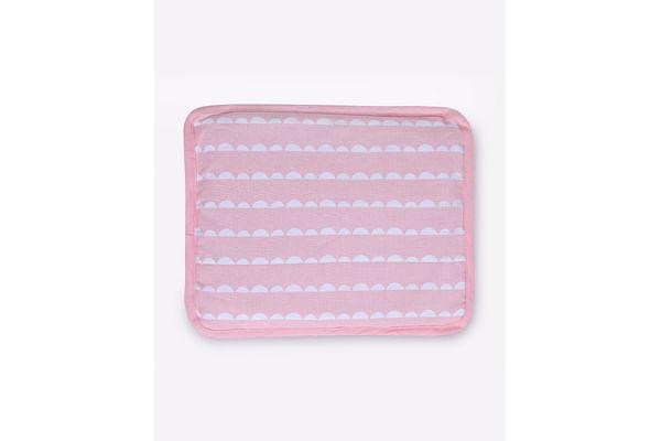 Mila Baby Pink Wave Rai Pillow