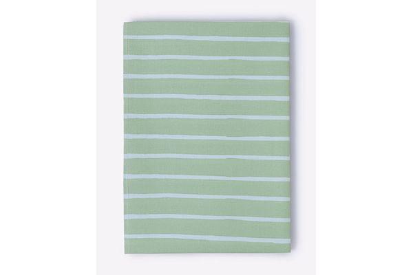 Mila Baby Green Stripes Changing Mat