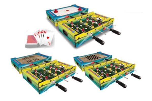 Carromco 6-in-1 Table Game 51cms