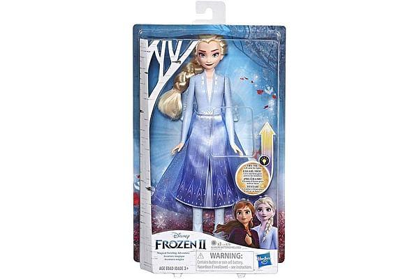 Frozen Elsa Magical Swirling Adventure Fashion Doll