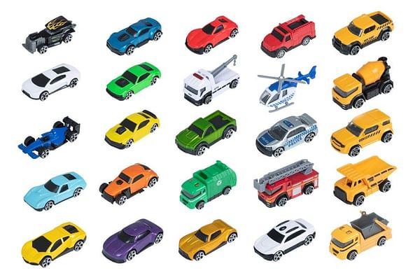 "Teamsterz  3"" DIE CAST  25 Car PACK Asst Vehicles"