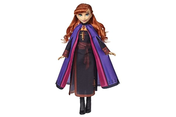 Disney Frozen 2 Anna Fashion Doll With Long Red Hair and Outfit Inspired by Frozen 2