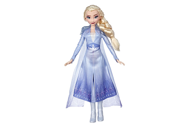 Disney Frozen 2 Elsa Fashion Doll With Long Blonde Hair and Blue Outfit Inspired by Frozen 2