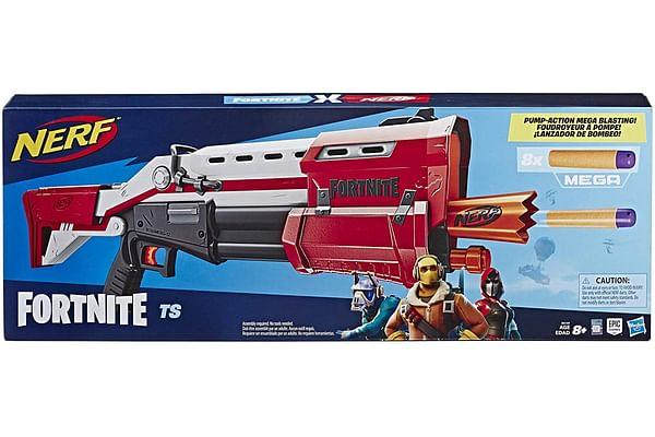 Nerf Fortnite TS Blaster, Pump Action Dart Blaster