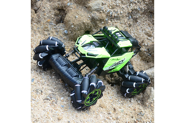 1:10 Remote Control Stunt Lateral and Oblique Drift, Dancing off-Road Car