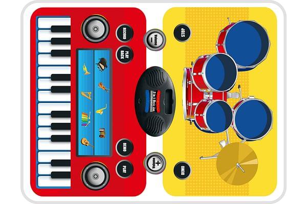 2 in 1 Magic Jam Playmat