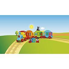 Lego Duplo Number Train Building Blocks (16 Pcs)10847