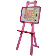 Comdaq Easel With Magnetic Letters (Pink)