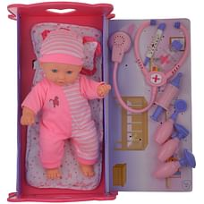 Baby Ellie Baby Doll Deluxe Doctor Set (Pink)