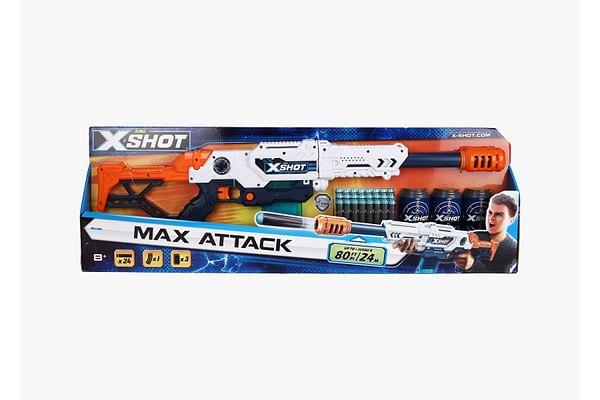 X-Shot Ne Zuru Clip Blaster L Max Attack