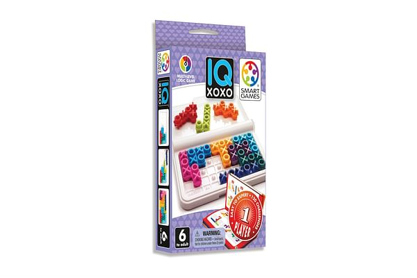 Smart Games Iq Xoxo 1 Played Puzzle Game