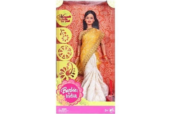 Barbie®, Barbie In India In New Look, P8228, New Brocade & Silk Sari
