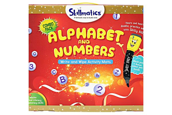 Skillmatics Educational Game : Alphabet And Numbers