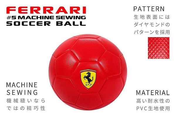 Ferrari 5 Black Soccer (Multi)