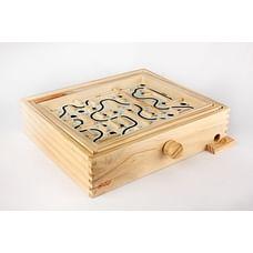 Hamleys Wooden Labyrinth (Light Brown )