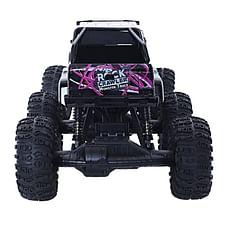 RW 1:8 6WD Monster Truck Rock Crawler Black & Green