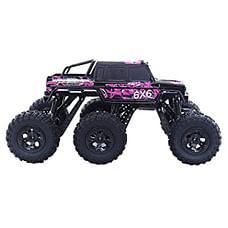 RW 1:8 6WD Monster Truck Rock Crawler Black & Purple