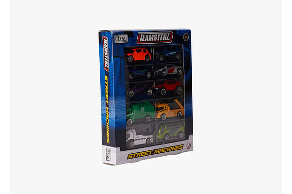Hti Teamsterz Fast Moving Wheels Highly Detailed Car Figures 