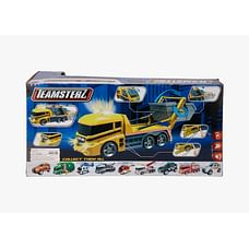 Hti Teamsterz Skip Lorry Truck With Lights And Sounds Skip Lorry Truck Toy