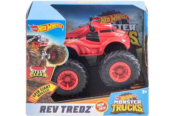 Monster Trucks 1:43 Rev Tredz Assorted