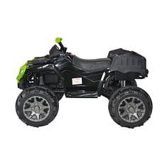 Bettyma ATV 4-wheel Ride-on Car with RC Black