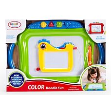 Comdaq Big Doodle Board 2 In 1 With Stamp - Green