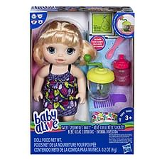 Baby Alive Sweet Spoonful'S Blonde Baby Doll Girl