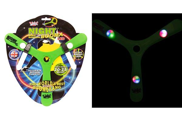 Wicked Night Sports Boomerang Led-Green