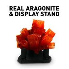 National Geographic Aragonite Crystal Growing Kit Grow Red Crystals