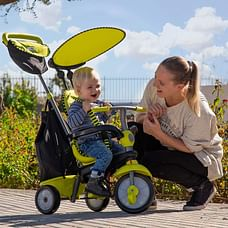 Smart Trike Glow 4 In 1 Baby Tricycle (Green)