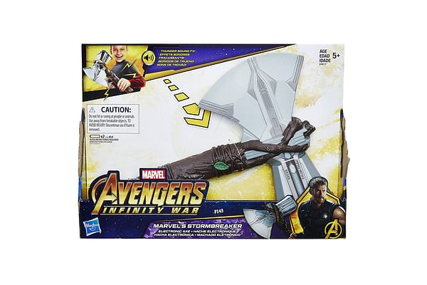 Marvel Avengers: Infinity War Marvel'S Stormbreaker Electronic Axe Thor Roleplay Toy With Sound