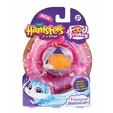 Zuru Hamsters In A House Nibbles  And  Chip Food Frenzy Hungry Hamster (Set Of 1)