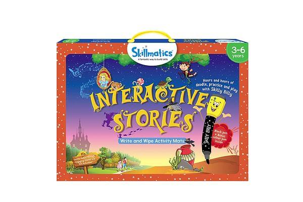 Skillmatics Educational Game: Interactive Stories
