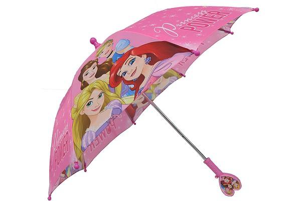 Disney Princess Blue Automatic Straight Umbrella-50 Cms
