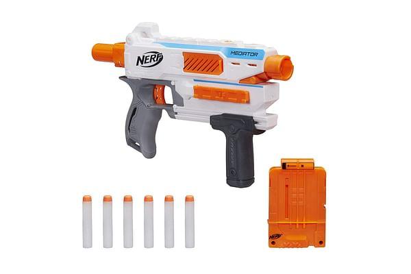 Nerf Modulus Mediator Blaster - Fire 6 Darts In A Row