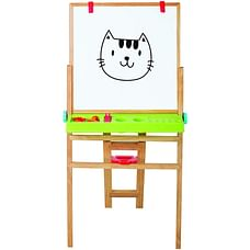Giggles My First New Easel - Brown