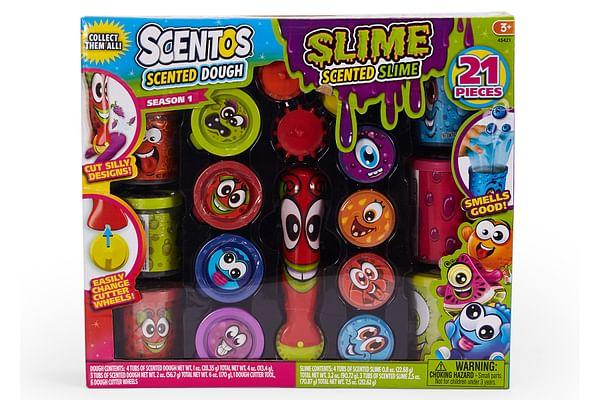 Scentos Slime & Dough 21 Pcs Set