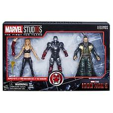 Marvel Iron Man 3 Pepper Potts, Iron Man Mark XXII & Mandarin