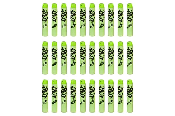 Nerf Official 30 Dart Zombie Strike Refill Pack For Nerf N-Strike Elite Accustrike Zombie Strike Modulus Toy Blasters