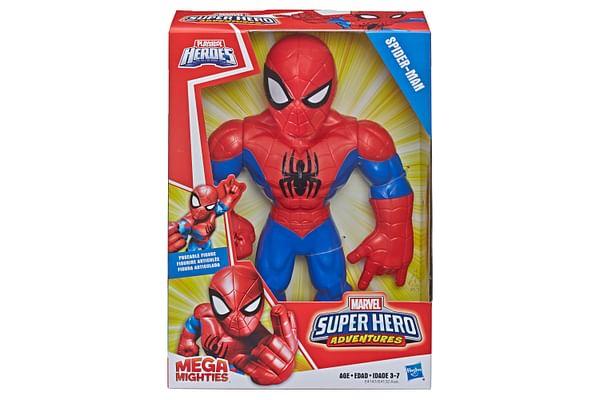 Playskool Marvel Super Hero Adventure Mega Mighties Spiderman
