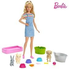 Barbie  Play N Wash Pets