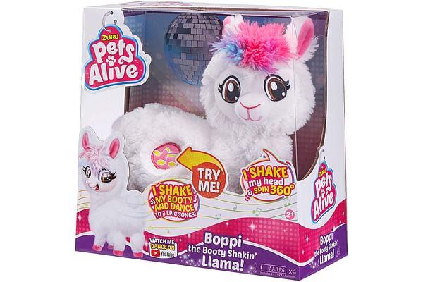 Pets Alive Boppi Llama-White