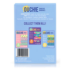 Ouchie Non-Toxic Printed Bandages (Blue)