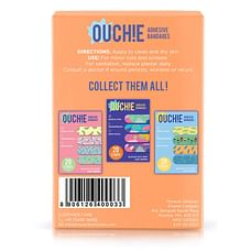 Ouchie Non-Toxic Printed Bandages (Orange)