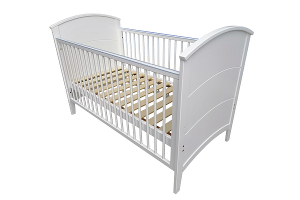 Papacare Alfie Cotbed White