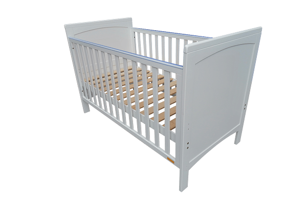 Papacare Ives Cotbed White