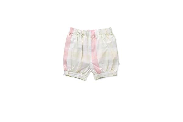 Girls Shorts Checks - Multicolor