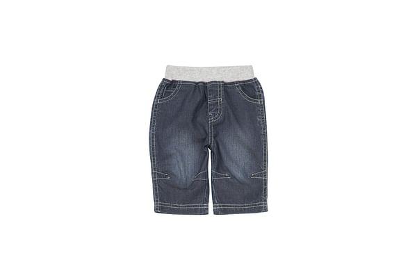 Boys Jeans Rib Waist - Blue