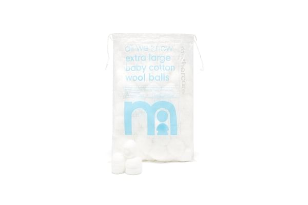 Mothercare Extra Large Cotton Wool Balls - 60 Pack
